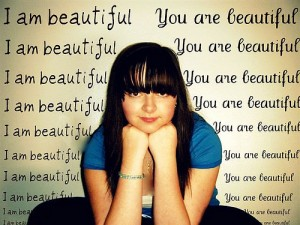 I am beautiful 300x225 How to Not Care What People Think